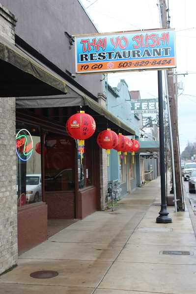 KRISTEN WOHLERS - Thai Yo Sushi now sits in the Molalla Avenue storefront and recently opened with a focus on Thai and Japanese foods.
