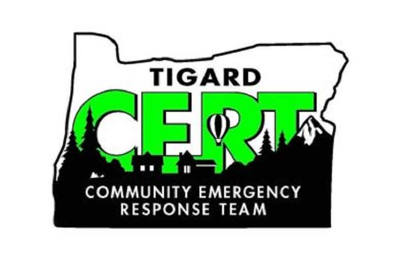 COURTESY OF TIGARD CERT - Tigard CERT classes begin on March 5.