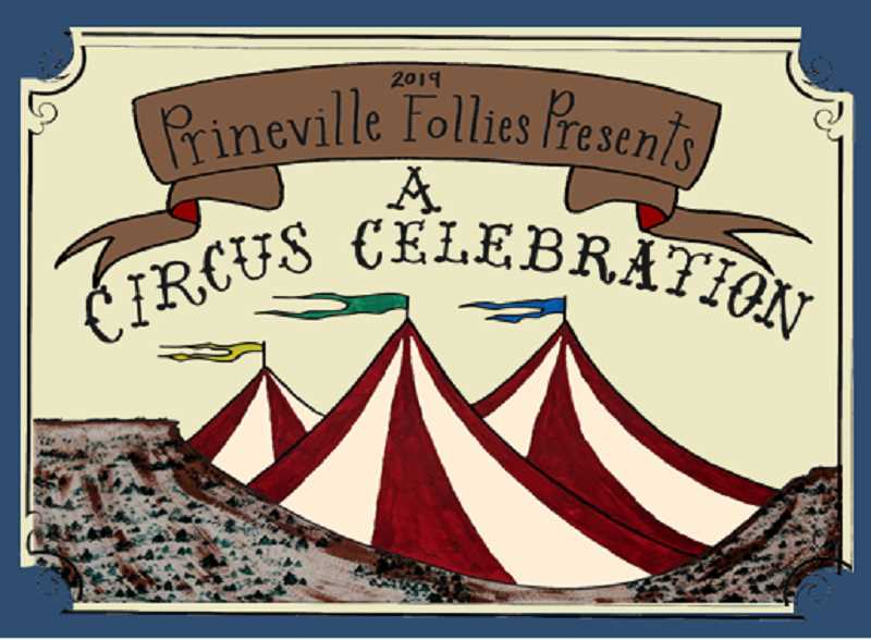 PRINEVILLE FOLLIES - Grace McDaniel created the poster that announces the March 8-9 Follies performances.