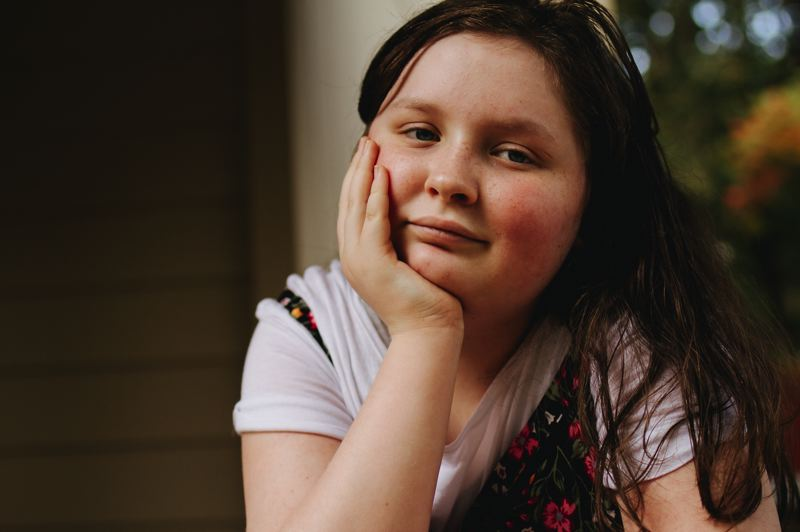 COURTESY PHOTO: HP STUDIOS HAYES PETERSON - After a tough few years, Lilly Hazel and her family will receive some financial and emotional support from the Hillsboro community through the Sparrow Clubs program.
