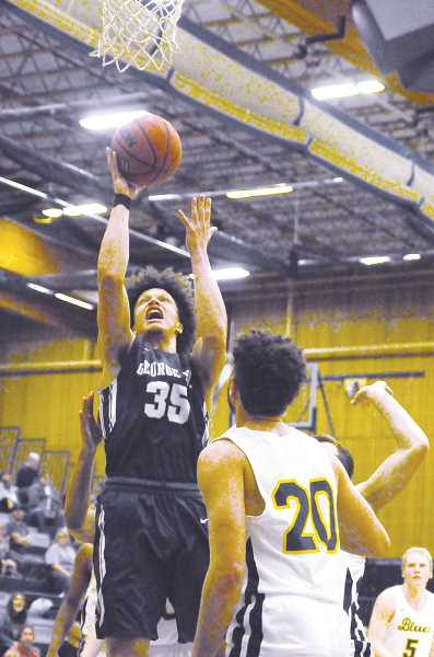 GARY ALLEN - After a strong first half, the George Fox men struggled to finish, allowing Whitman to pull away in the second half and demonstrate why it is a top-five team.