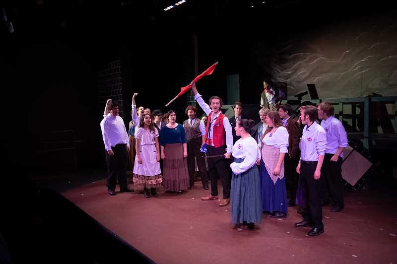 "COURTESY PHOTO: TINA ARTH - STAGES Performing Arts Youth Academy in Hillsboro tackle the dramatic musical, ""Les Misérables.'"