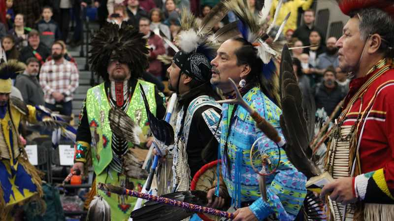 COURTESY PHOTO: PORTLAND COMMUNITY COLLEGE - Portland Community College is celebrating the Native American culture and traditions with its 20th annual powwow at the Sylvania Campus on Jan. 19.