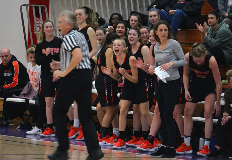 TIMES PHOTO: MATT SINGLEDECKER - The Beaverton girls basketball team made it to the Class 6A semifinals last season and won 23 games.