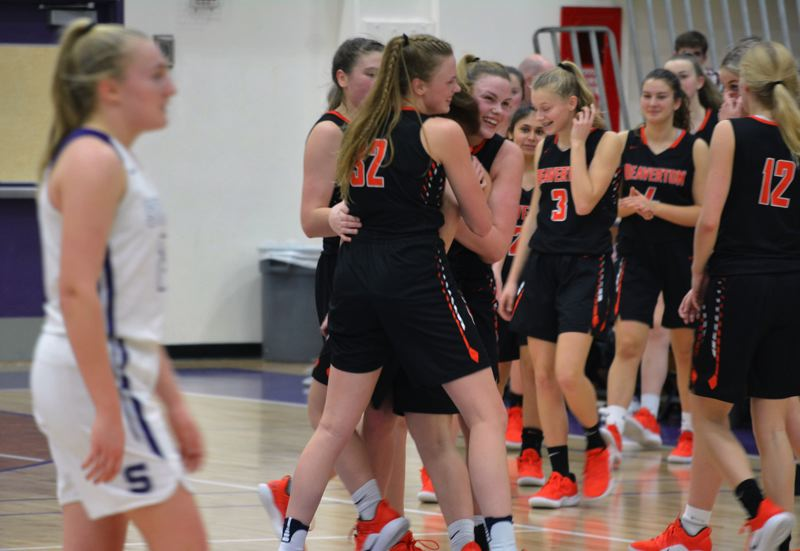 TIMES PHOTO: MATT SINGLEDECKER - The Beaverton girls basketball team is one of the Class 6A state title and Metro League favorites this year.