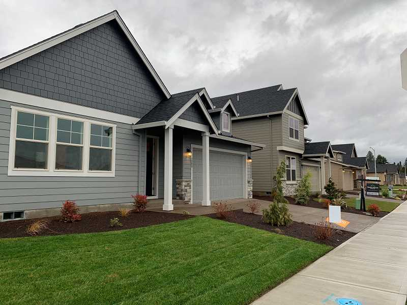 SUBMITTED PHOTO - Stafford Home and Lands homes typically feature spatious yards and garages.