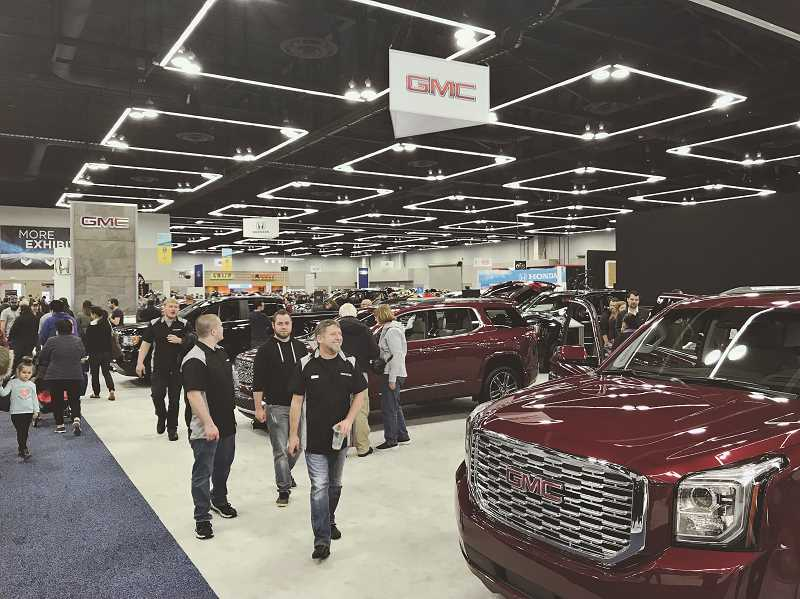 COURTESY PMNCDA - Those attending the Sneak Peek Charity Party can view the entire 2019 Portland International Auto Show the evening before it opens to the public.