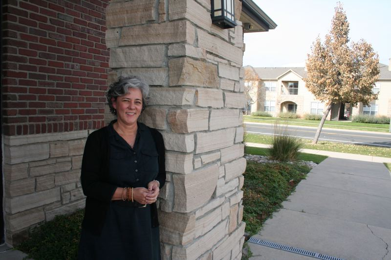 PAMPLIN MEDIA GROUP: SHASTA KEARNS MOORE - Dr. Karen McAvoy, shown here in front of her concussion clinic in Fort Collins, Colorado, wrote REAP — a school-based concussion protocol in use in 10 states nationwide. She and Pennsylvania-based Brenda Eagan-Johnson also wrote Get Schooled on Concussions.