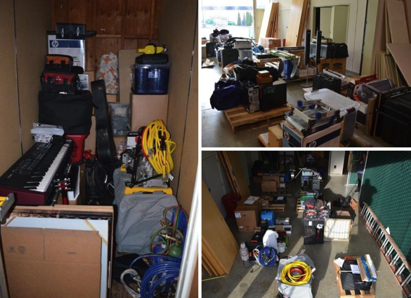 BEAVERTON PD PHOTOS - Beaverton Police say these images show allegedly stolen property recovered from Timothy Vandehey.