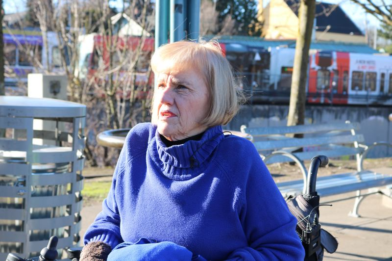 TRIBUNE PHOTO: ZANE SPARLING - Jan Campbell, chair of TriMet's Committee on Accessible Transportation