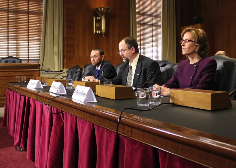 FILE PHOTO - Washington County Chair Andy Duyck testified before a subcommittee of the Senate Energy and Natural Resources Committee, which later voted in favor of legislation backing safety improvements for Scoggins Dam.
