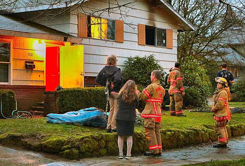 DAVID F. ASHTON - The residents did all the right things, when a mattress caught fire in a Woodstock home, fire officials say.