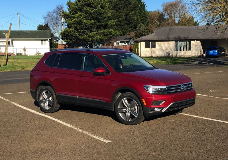 PORTLAND TRIBUNE: JEFF ZURSCHMEIDE - The handsone 2019 VW Tiguan is a practical, affordable, well-designed family crossover, perfectly suited for the Pacific Northwest.