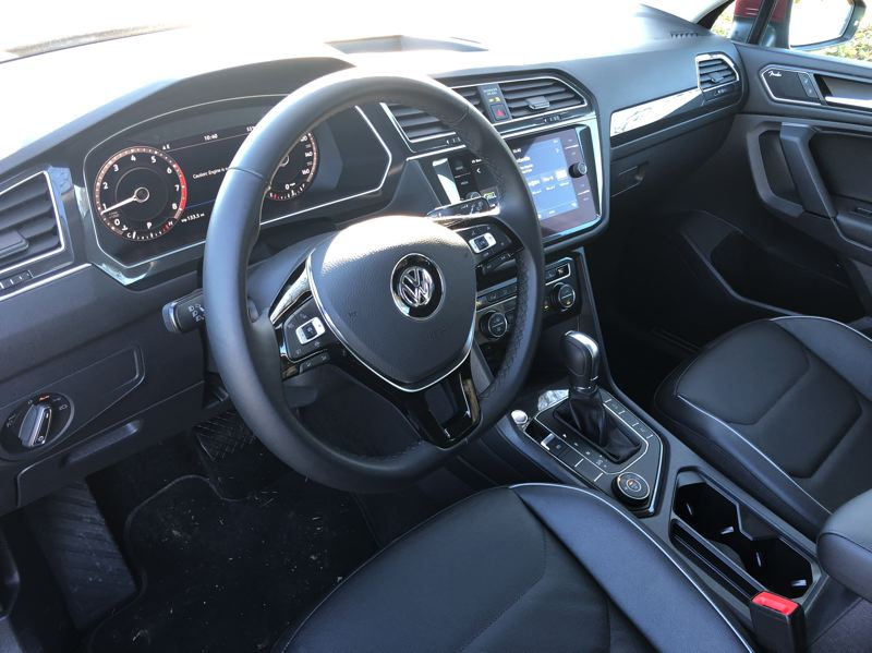 PORTLAND TRIBUNE: JEFF ZURSCHMEIDE - Like all Volkswagen vehicles, the control in the 2019 Tiguan are logically laid out, and easy to find and use. A full range of advanced automotive technologies are available.