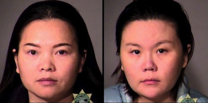 MCSO PHOTOS VIA KOIN 6 NEWS - FROM LEFT: Hui Ling Sun and Ting Fu