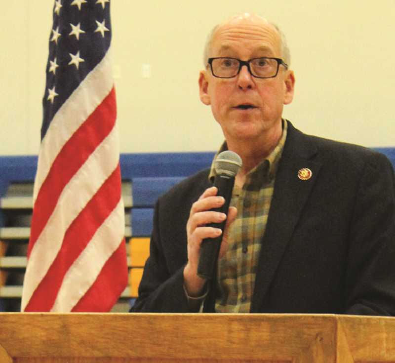 JASON CHANEY - Rep. Greg Walden highlights work at the Capitol.