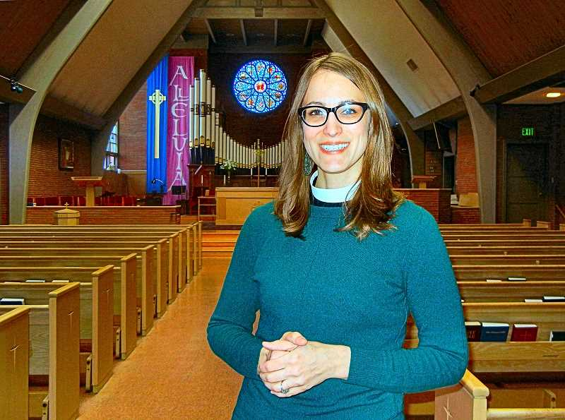 ELIZABETH USSHER GROFF - Rev. Andria Skornik, the new Priest and Rector at All Saints Episcopal Church in Woodstock, says she looks forward to creating a family-centered church.