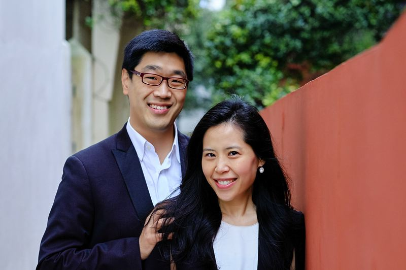 COURTESY PHOTO - Gloria Chien and Soovin Kim will be the new artistic directors of Chamber Music Northwest, starting in summer 2020.