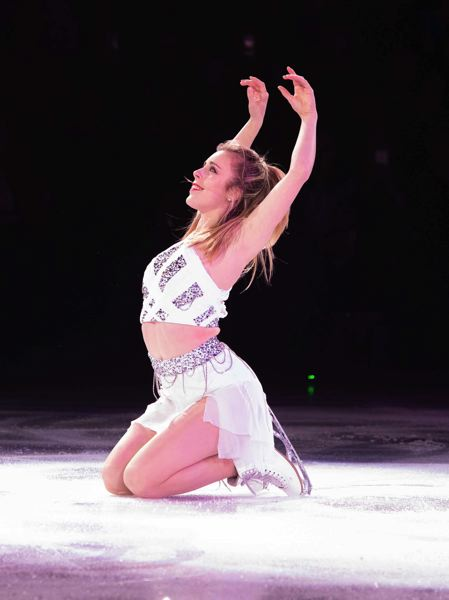 COURTESY: SHARON SIPPLE/STARS ON ICE - Three-time national champion Ashley Wagner is expected to join Olympic champs at 'Stars on Ice' at the Moda Center, May 18.