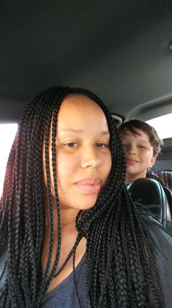 COURTESY PHOTO: ALISHA OVERSTREET - Alisha Overstreet and her son, Elijah, who for more than a year has been on a reduced school schedule in the Yamhill-Carlton School District due to behavioral struggles.