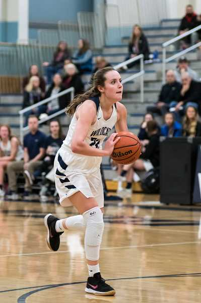 SUBMITTED PHOTO: GREG ARTMAN - Wilsonvilles Cydney Gutridge has helped lead the WIldcats to the No. 1 5A rank in the state of Oregon.