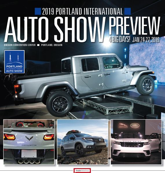 (Image is Clickable Link) Portland International AutoShow 2019 Preview