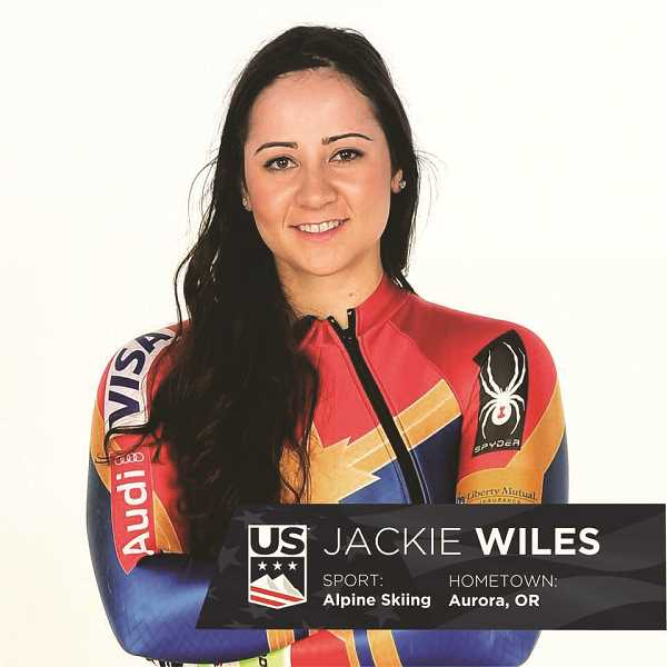 COURTESY PHOTO - Wiles made her Olympic debut in 2014 at the Sochi games, placing 26th in the downhill event. She currently ranks 17th in the World Cup standings in downhill and 36th in super G.