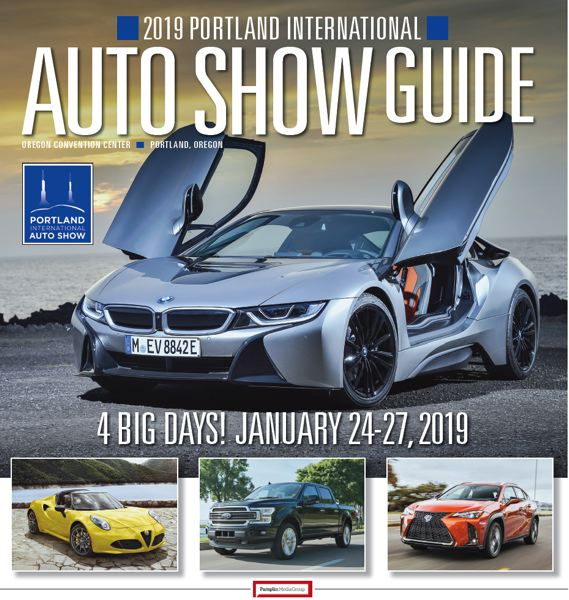 (Image is Clickable Link) Portland International Auto Show Magazine 2019