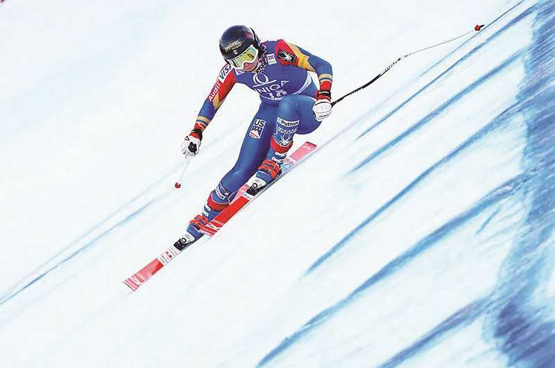 COURTESY PHOTO - Aurora native and Canby High School graduate Jackie Wiles was slated to compete in the 2018 Winter Olympics before suffering a severe knee injury that kept her out of the competition and forced her into rehabilitation for the past 12 months.