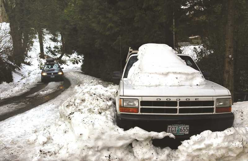 PMG FILE PHOTO - Those ill-prepared for inclement winter weather could find themselves stranded by the side of the road.