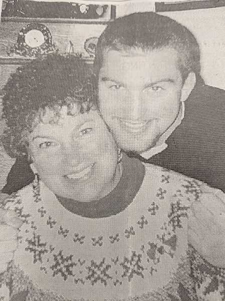 ARCHIVE PHOTO - In 1999, Estacada High School graduate Brett Andre and his mother Janyce Andre had completed their fourth consecutive college terms with 4.0 grade point averages.