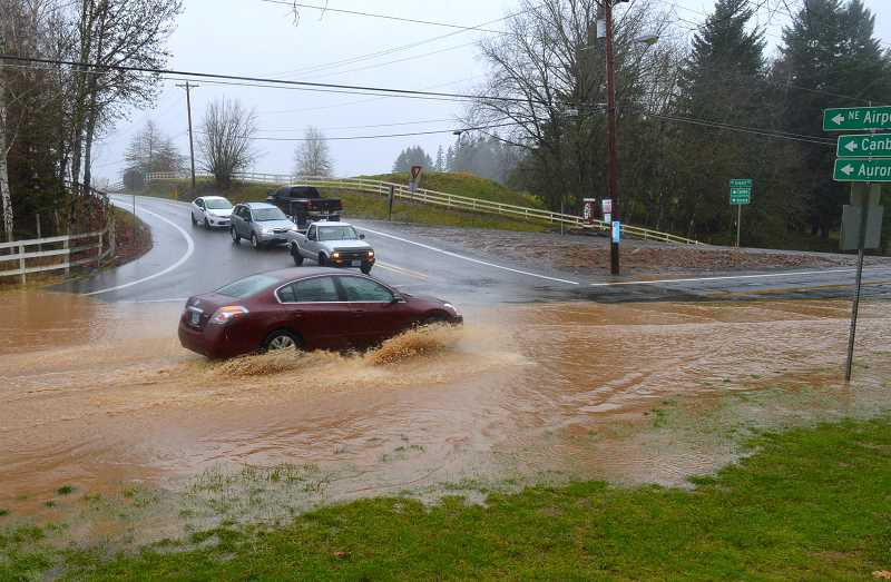 SPOKESMAN FILE PHOTO - The draft plan states that Wilsonville has a moderate probabillity and vulnerability to a flood.