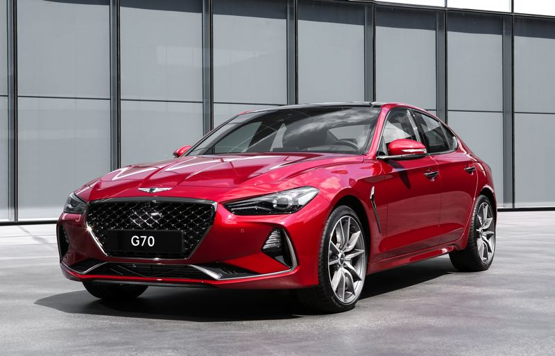 COURTESY GENSIS - 2019 Genesis G70
