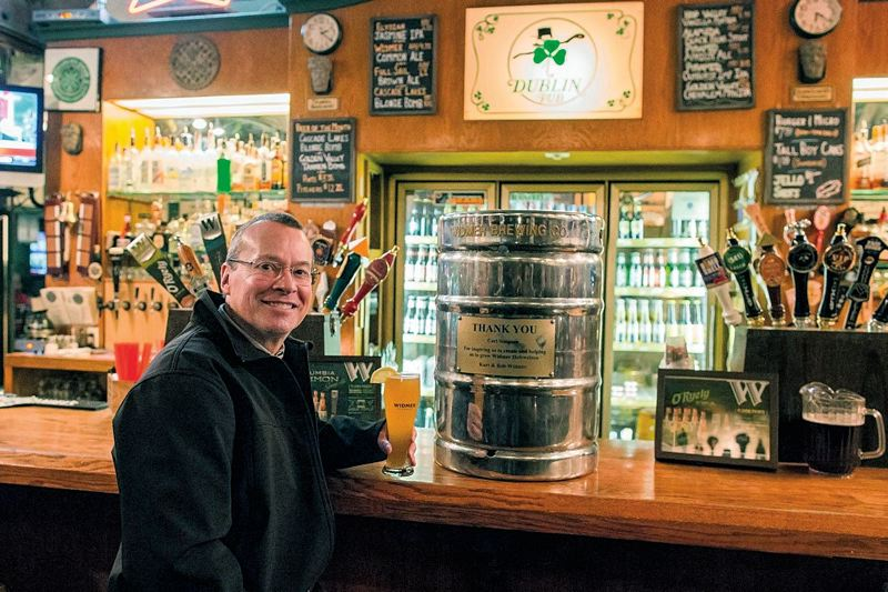WIDMER BREWING - Kurt Widmer celebrated 30 years in the beer biz in 2014. Now the Russell Street brew pub has been retired too.