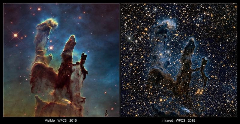 CONTRIBUTED PHOTO: HUBBLE SPACE TELESCOPE/NASA - This is set of images from the Hubble Space Telescope, among those to be presented on Feb. 5 and 8 at the Mt. Hood Community College planetarium.
