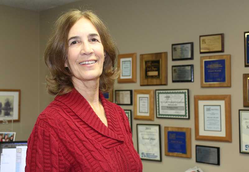 HOLLY M. GILL - A reception in honor of Susan Matheny, who is retiring after more than 30 years at the Madras Pioneer, will be held Friday, Feb. 1, at the Pioneer office.