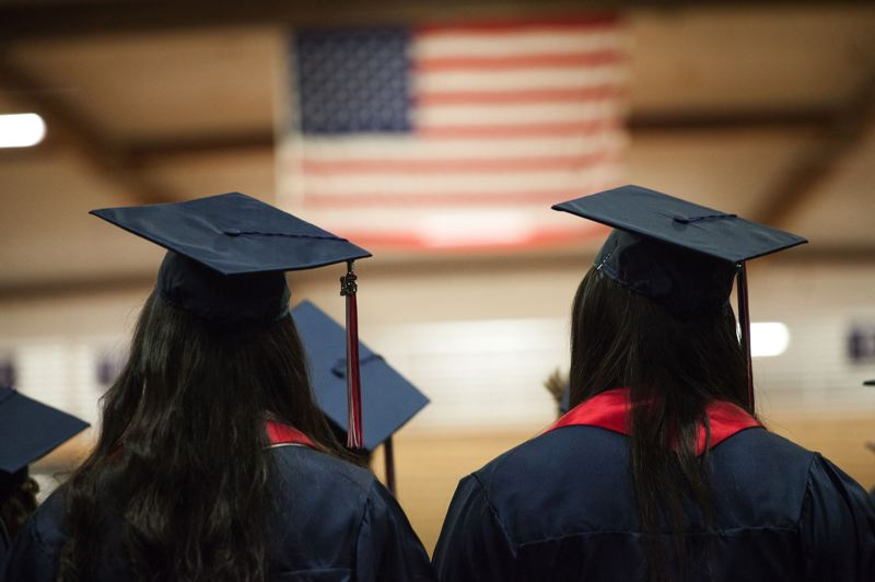 PAMPLIN MEDIA GROUP FILE PHOTO - Portland high schools had better graduation rates last year, according to a new state review.
