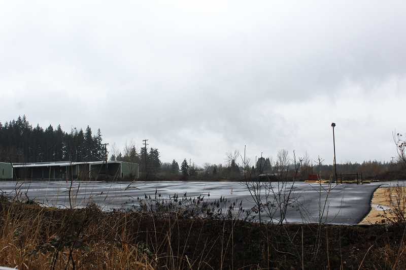 KRISTEN WOHLERS - The old mill lot has been repaved, reportedly at the direction of the EPA.