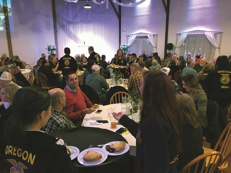 COURTESY PHOTO - This year's event will be held at the Mount Angel Event Center. As the live auction fundraiser has grown in popularity over the years, the event has had to move from venue to venue to accomodate more supporters.