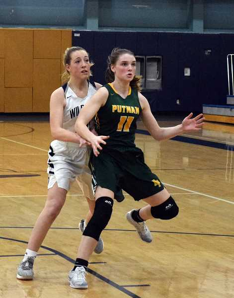 SPOKESMAN PHOTO: TANNER RUSS - Putnams Sarah Rope had 15 points for the Kingsmen on Friday, Jan. 25.