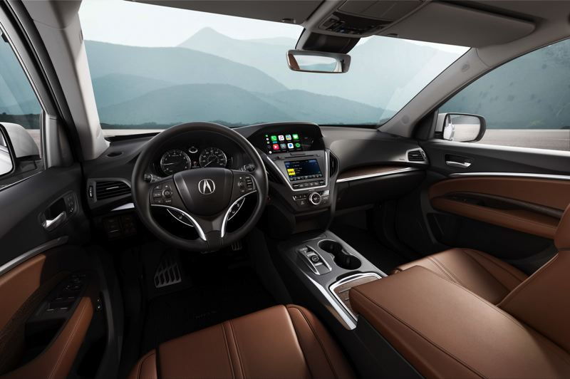 HONDA NORTH AMERICA - The interior of the 2019 Acura MDX Sport Hybrid has all the luxury you could want, and can be ordered with practically every available automotive technology.