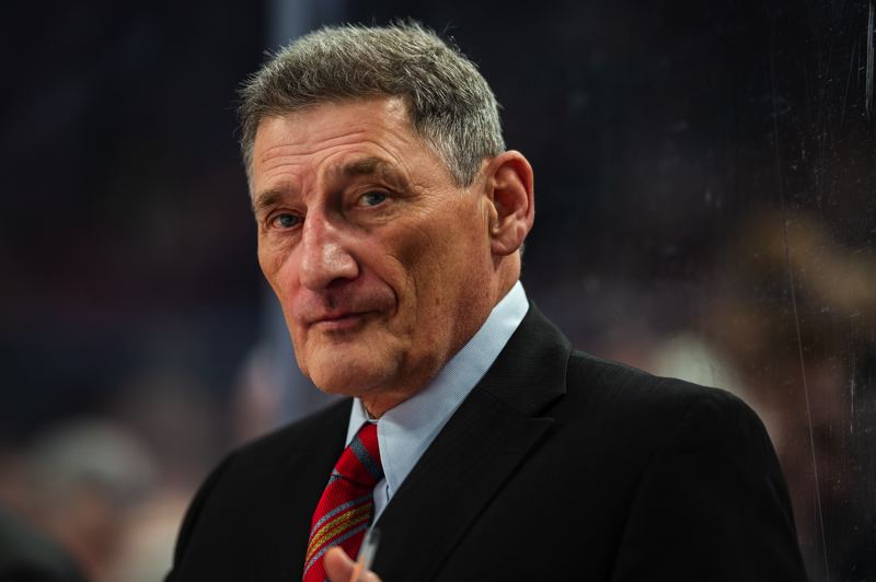 COURTESY: BEN LUDEMAN/PORTLAND WINTERHAWKS - Don Hay is the Western Hockey League's all-time coaching wins leader with 750 over 19 seasons with three teams — none of them the Portland Winterhawks, his new team. Hes an assistant coach.