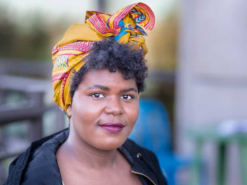 COURTESY PHOTO: THE IMMIGRANT STORY - Olive Bukuru is featured in 'Our Community, Our Stories,' organized by The Immigrant Story, a Hillsboro nonprofit.
