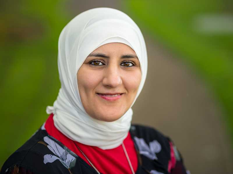 COURTESY PHOTO: THE IMMIGRANT STORY - Eman Abbas is featured in the photography exhibit Our Community, Our Stories,' organized by The Immigrant Story, and sharing the stories of immigrants living in the United States.