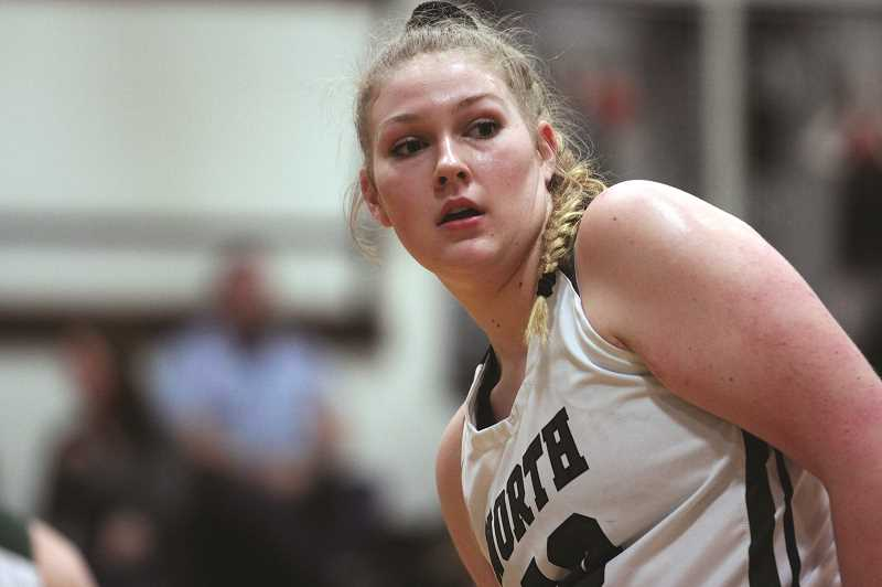 PAMPLIN MEDIA GROUP: PHIL HAWKINS - North Marion senior Raymee Boese and the No. 3 Huskies improved to 4-0 in the Tri-Valley Conference last week with a pair of victories.