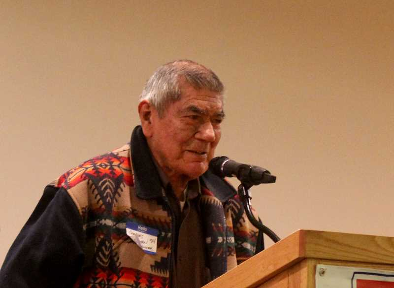 STEELE HAUGEN - Inductee Charles Nathan, class of 1954, was a football and basketball standout at MHS and Willamette University.