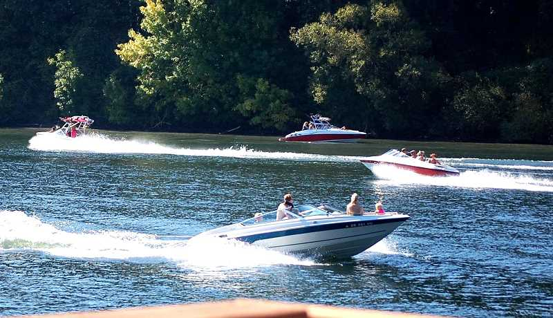 SUBMITTED PHOTO - The State Marine Board approved rule changes last week that will alter boating activity along the Newberg Pool portion of the Willamette River.