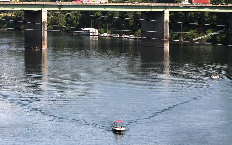 SPOKESMAN FILE PHOTO - According to the new rules, wake surfers and wake boarders will be clustered into zones.