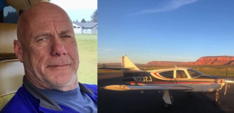 COURTESY PHOTO: KOIN 6 NEWS - George Regis was the pilot of a single-engine plane that crashed on the north side of Mount Hood.