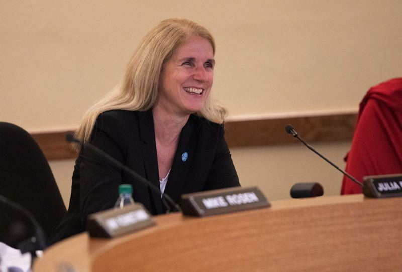 PAMPLIN MEDIA GROUP FILE PHOTO - PPS board member Julie Brim-Edward said the school district planned to hear more from students and talk to the city about the cost of putting Portland police officers in schools.